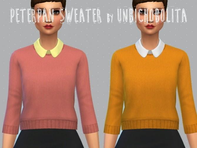 Peterpan Sweater At Un Bichobolita 187 Sims 4 Updates