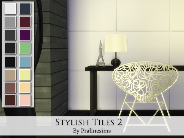 Stylish Tiles 2 by Pralinesims at TSR image 1826 Sims 4 Updates