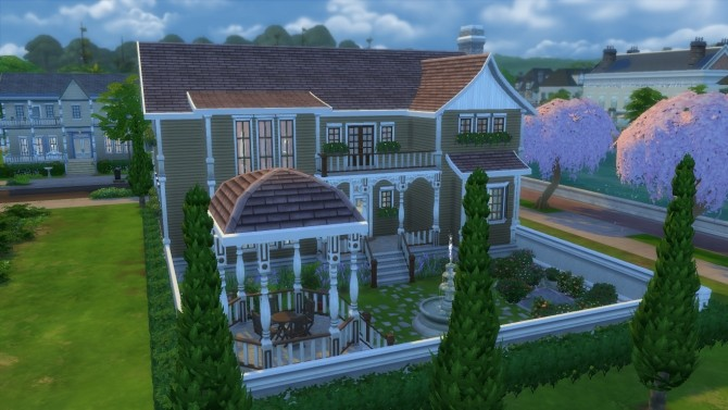Sims 4 Umber Manor by RayanStar at Mod The Sims