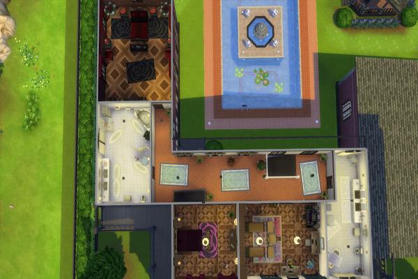 Sims 4 Villa Vandengulden by MadameChaos at Blacky's Sims Zoo
