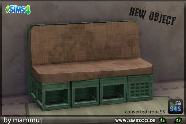 Loveseat Crates by mammut at Blacky's Sims Zoo image 1894 Sims 4 Updates