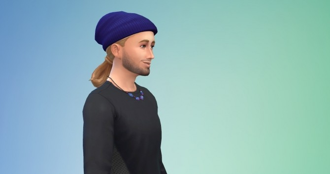 Sims 4 Gender Hair conversion EP01 Scientist Low Loop Male at Birksches Sims Blog