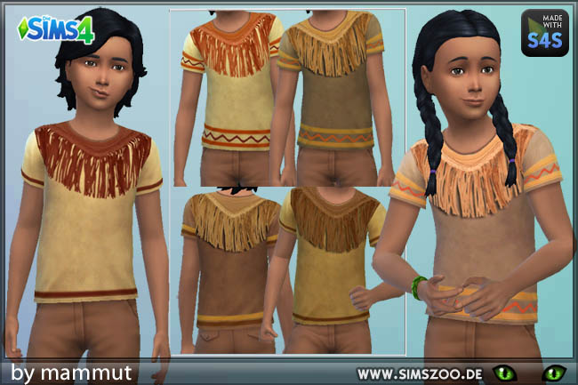 Indian Shirt By Mammut At Blacky S Sims Zoo 187 Sims 4 Updates