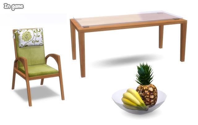 Sims 4 Adamaris patio set at Lunararc