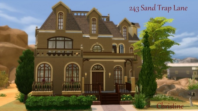 Sims 4 243 Sand Trap Lane DV Maxis Makeover by Christine11778 at Mod The Sims