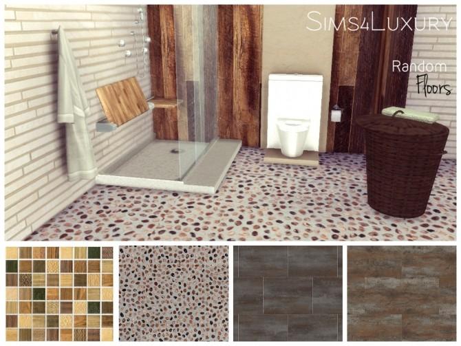 Sims 4 Random tiles floors at Sims4 Luxury