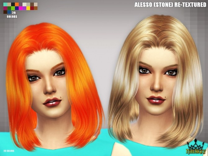 Sims 4 Alesso Stone Re textures at NiteSkky Sims