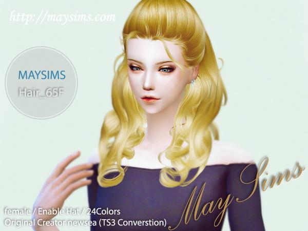 Hair 65F at May Sims image 1971 Sims 4 Updates