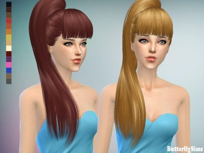 B Fly Sims B-fly hair 138 no hat ...