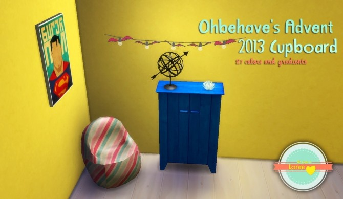 Ohbehave's Cupboard and  Sideboard + gumball machine at Loree image 19812 670x389 Sims 4 Updates