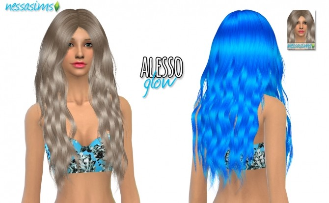 Hair Dump #6 at Nessa Sims image 1987 670x413 Sims 4 Updates