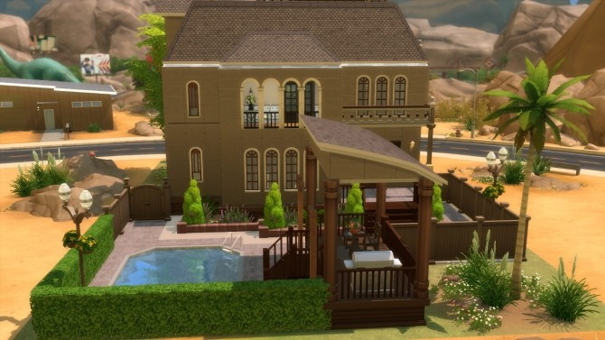 243 Sand Trap Lane Dv Maxis Makeover By Christine11778 At Mod The Sims Sims 4 Updates
