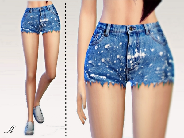 Plams Jeans Shorts by Apathie at TSR image 20 Sims 4 Updates