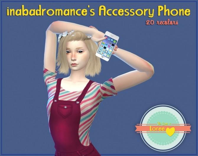Sims 4 Inabadromance Phone Recolors at Loree