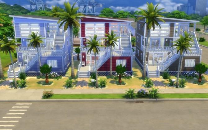 Sims 4 Beach Condos by silverwolf 6677 at Mod The Sims