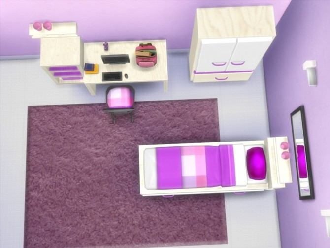 Sims 4 The Sweetest Dream Kids bedroom at Little Sims Stuff