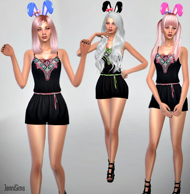 Sims 4 Bunny Ears Bow at Jenni Sims