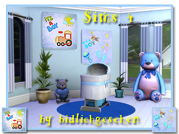 Sims 4 Images for baby and childrens rooms at Akisima