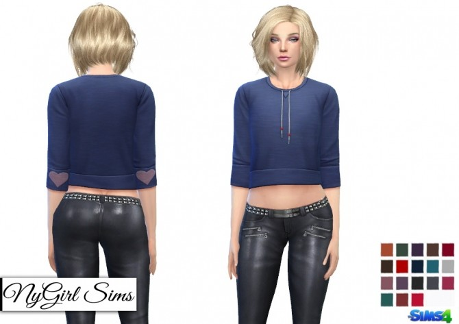 High Shine Zippered Leather Pant at NyGirl Sims image 2085 670x473 Sims 4 Updates