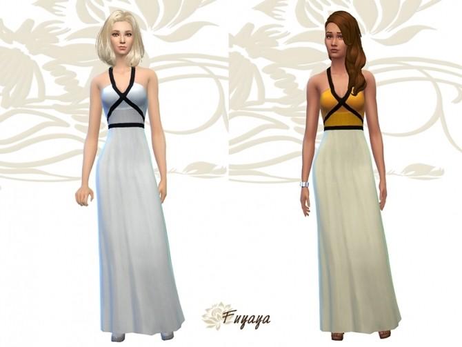 Sims 4 Dress scrap variations by Fuyaya at Sims Artists