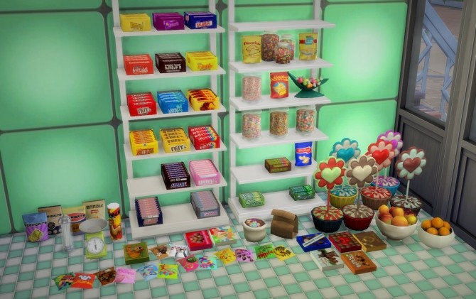Chocolate Boxes at Budgie2budgie image 2108 670x421 Sims 4 Updates