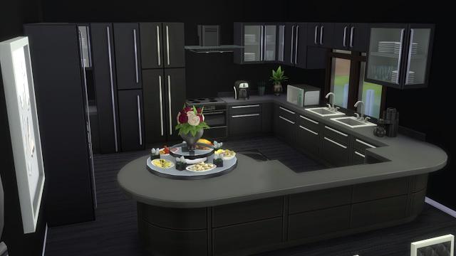 Sims 4 Elles Kitchen N Dining at Sanjana sims