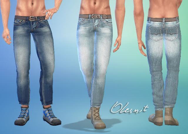 Male Jeans At Olesims 187 Sims 4 Updates