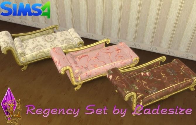 Sims 4 Regency Set at Ladesire