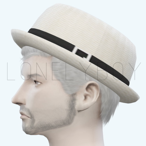 Sims 4 Summer straw hat by Lonelyboy at Happy Life Sims