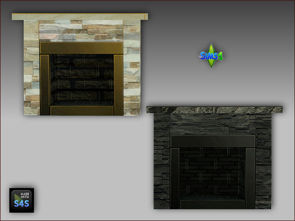 Sims 4 Fireplaces and matching paintings at Arte Della Vita
