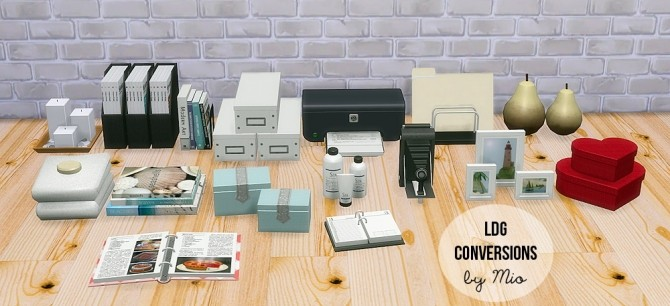 Ldg Conversions At Mio 187 Sims 4 Updates