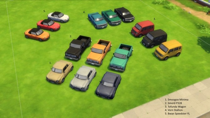 Ownable Cars by Dark Gaia at Mod The Sims image 2474 670x377 Sims 4 Updates