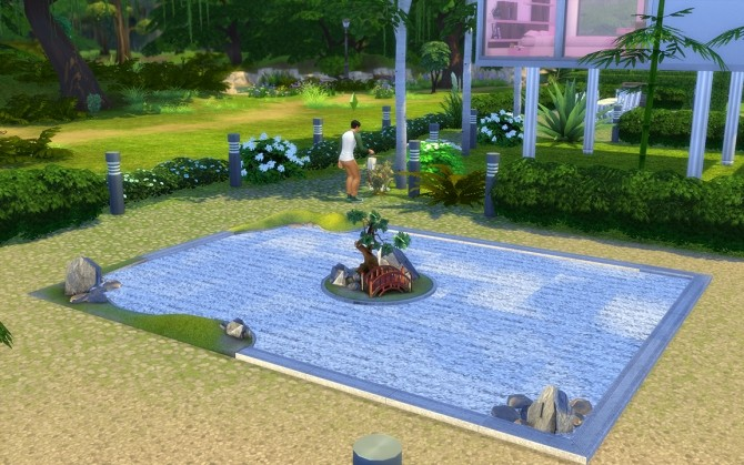 The sims 2 zen garden conversion by loolyharb1 at mod the for Garden conversion