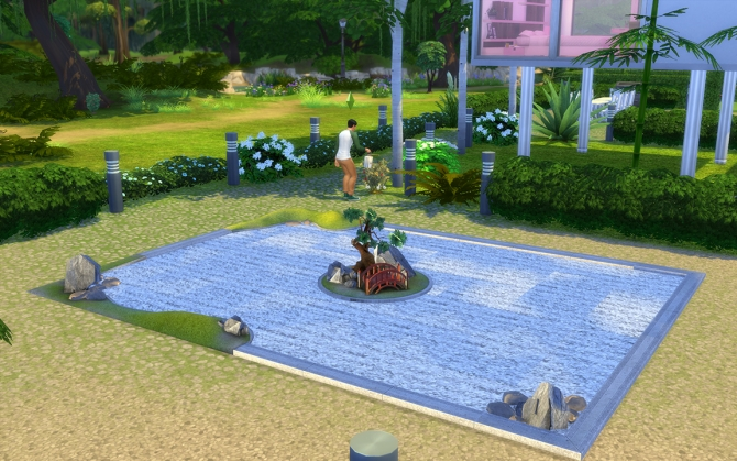 the sims 2 zen garden conversion by loolyharb1 at mod the