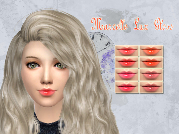 Sims 4 Marcelle Lux Gloss by SakuraPhan at TSR