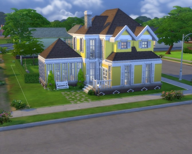 Yellow Home Life (No CC) by GChocapic at Mod The Sims image 2617 670x536 Sims 4 Updates