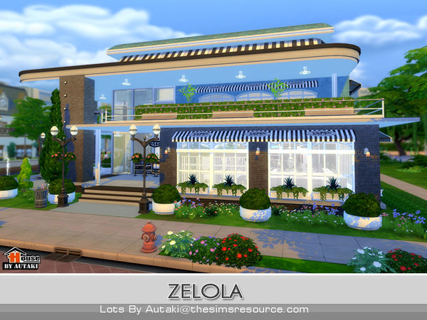 Zelola Fashion Shop by autaki at TSR image 2619 Sims 4 Updates
