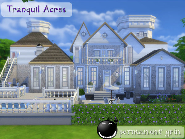 Sims 4 Tranquil Acres house by permanentgrin at TSR