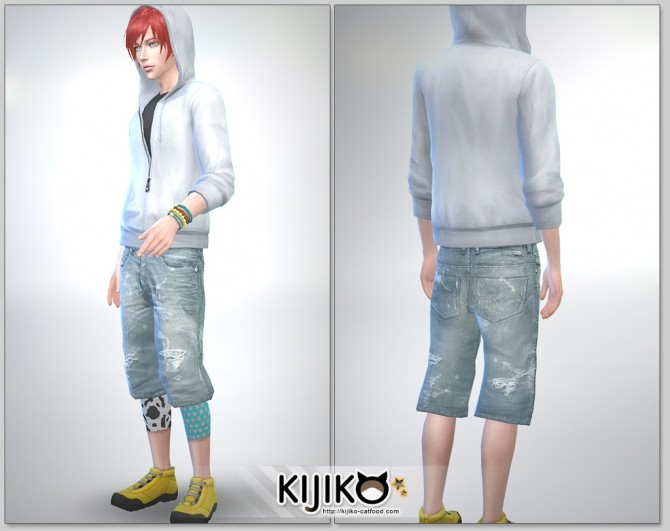 Relaxed Jeans for Male at Kijiko image 2631 670x531 Sims 4 Updates