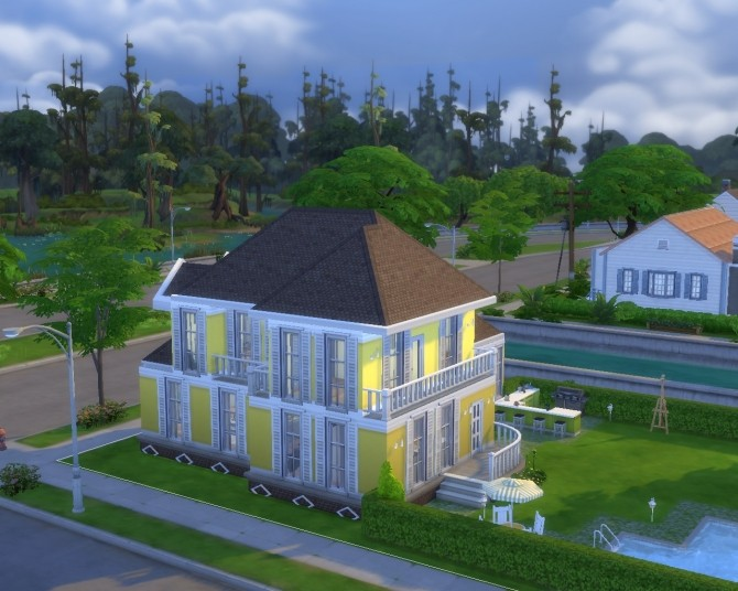 Yellow Home Life (No CC) by GChocapic at Mod The Sims image 2716 670x536 Sims 4 Updates