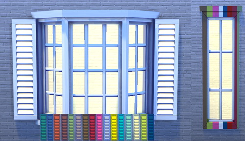 White and bright doors and windows at Pixel Jewel image 277 Sims 4 Updates