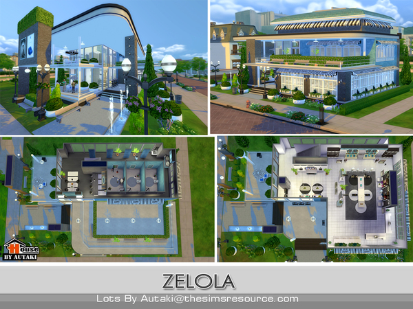 Zelola Fashion Shop by autaki at TSR image 2817 Sims 4 Updates