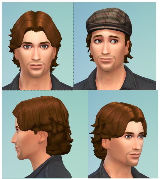 Short Curly Male Hair At Birksches Sims Blog Sims 4 Updates