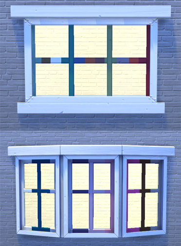 White and bright doors and windows at Pixel Jewel image 286 Sims 4 Updates