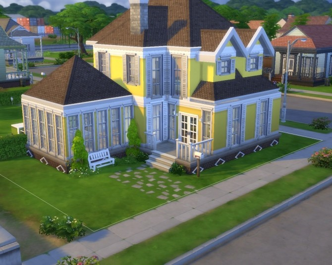 Yellow Home Life (No CC) by GChocapic at Mod The Sims image 2913 670x536 Sims 4 Updates