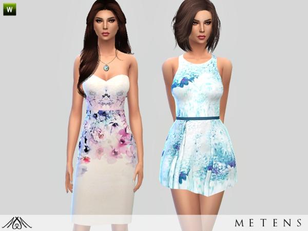 Sims 4 Set No4 Spring by Metens at TSR