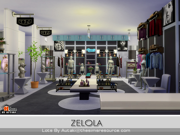 Zelola Fashion Shop by autaki at TSR image 2915 Sims 4 Updates