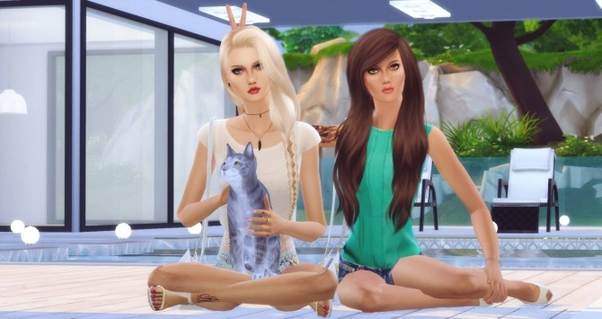 Best Friends poses by Dreacia at My Fabulous Sims image 3011 670x355 Sims 4 Updates