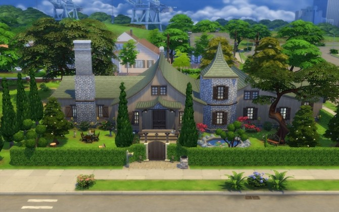 Sims 4 Storybook Cottage by silverwolf 6677 at Mod The Sims