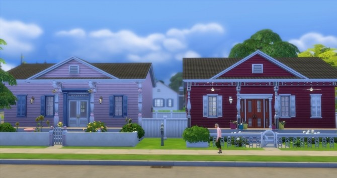 Fauborg Marigny houses by bubbajoe62 at Mod The Sims image 3210 670x355 Sims 4 Updates